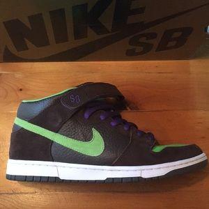 """buy popular 892b2 9cbae Nike Shoes - Nike Dunk Mid Pro SB """"Donatello"""""""